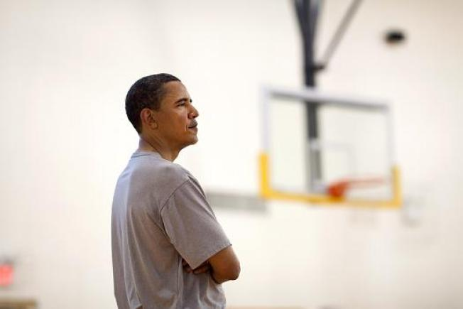 Lakers Visit Obama at the White House