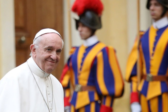 Pope Off to Maximum-Security Prison for Foot Washing Ritual