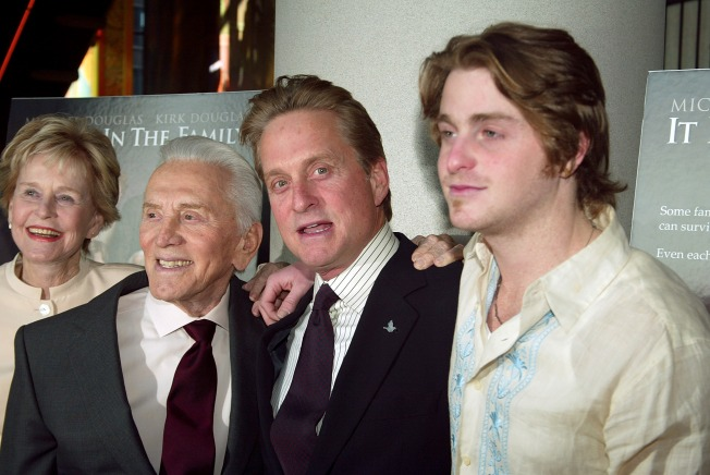Michael Douglas: Prison Will Save My Son