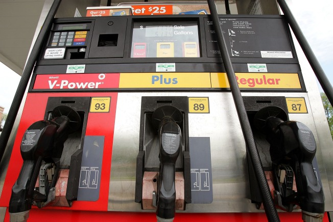 Gas Prices Down 4 Cents
