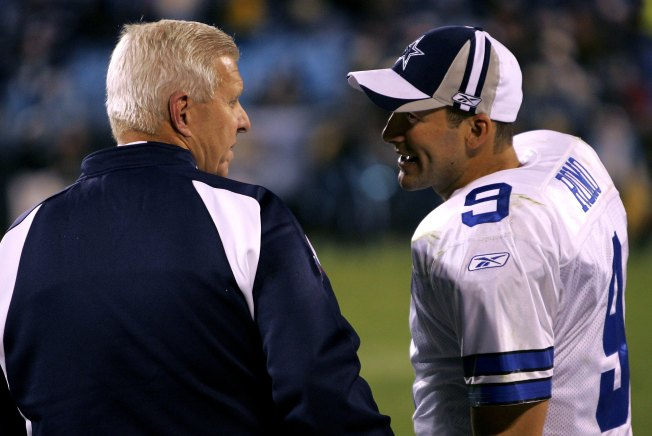 Parcells Thinks He Did Romo a Favor