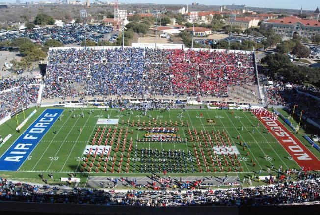 Houston, Air Force Replay Last Year's Armed Forces Bowl