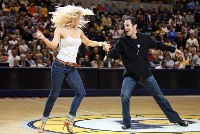 Castroneves Dances in With Predictions