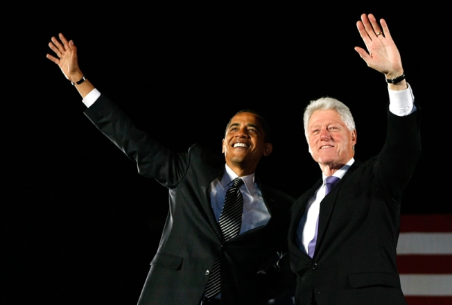 The Barack and Bill Show