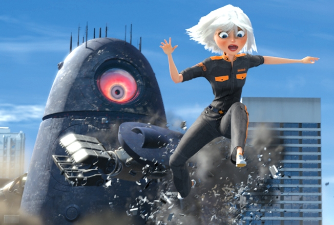 """Monsters vs. Aliens"" Gets 3D Super Bowl Promo"