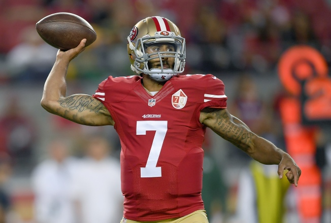 Colin Kaepernick's No. 7 Jersey Becomes Top 10 Seller