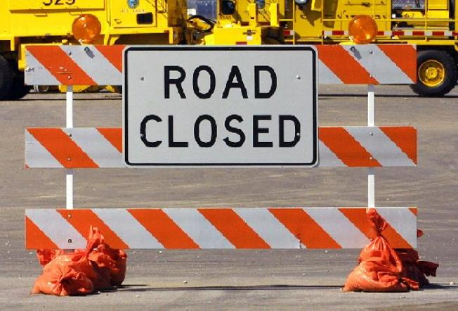 Construction to Close Parts of Tollway