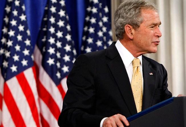 "Bush Champions ""Free Markets and Free People"""
