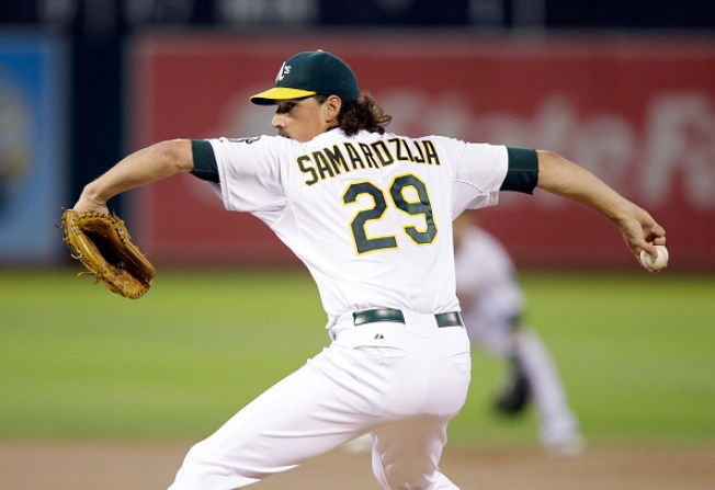 Rangers Rumored to be Interested in Samardzija