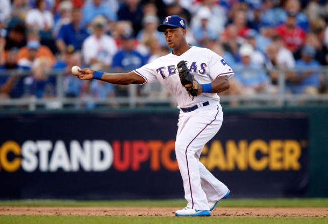 Beltre Named Gold Glove Finalist