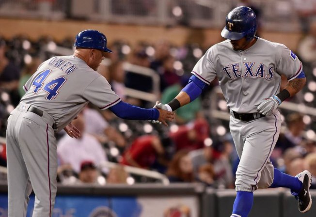 Desmond, Dyson Lead Rangers Past Twins 3-2 in 10 innings
