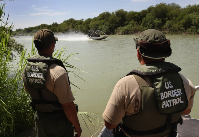 Border Patrol Making the Rounds at Texas Motor Speedway