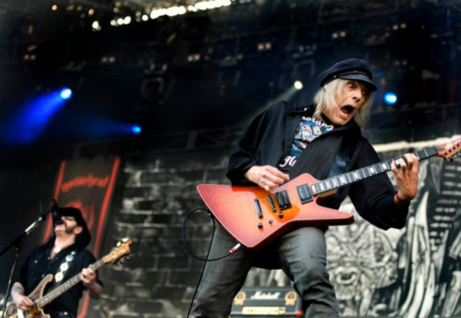 Motorhead Guitarist Dead at 61