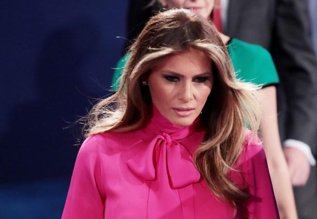 Melania Trump Breaks Silence to Defend Her Husband's 'Boy Talk'