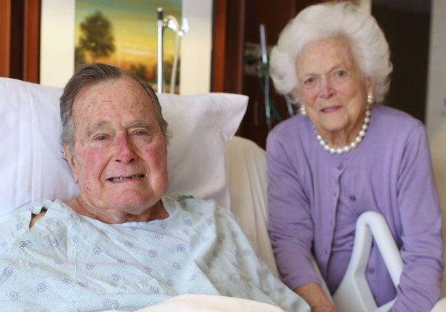 George H.W. Bush Leaving ICU, Barbara Bush Out of Hospital