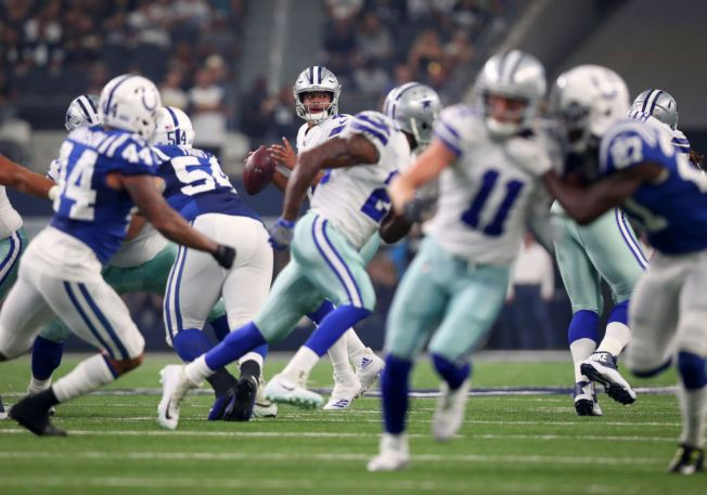 Prescott, Bryant connect quickly as Cowboys top Colts 24-19