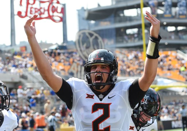 Rudolph Has 5 TD Passes, Number 9 Oklahoma St. Beats Pittsburgh