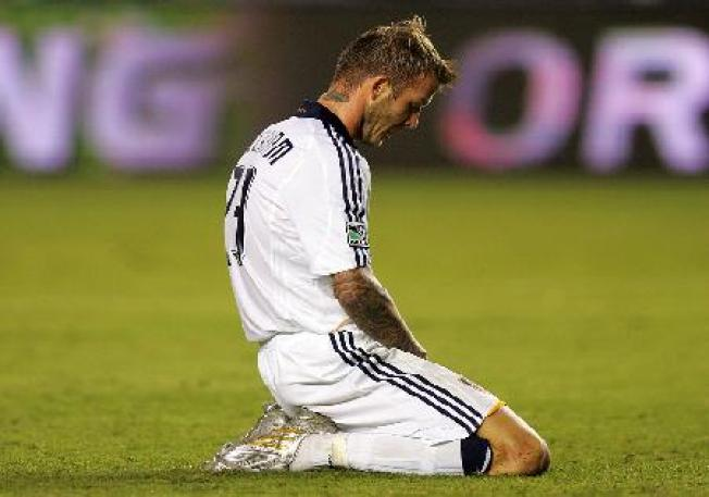 Beckham, Juninho Lead Galaxy Over FC Dallas