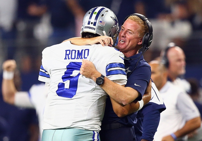 Cowboys Beat Giants 27-26 on Late TD