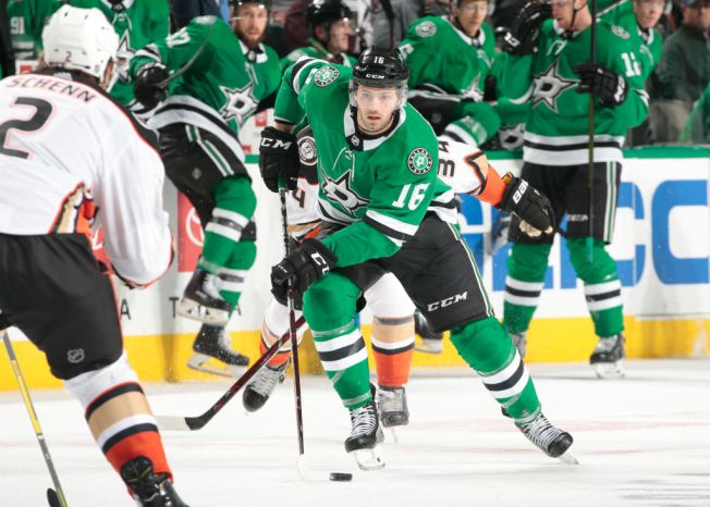 Dickinson Scores Twice in Night of 1sts, Stars Top Ducks