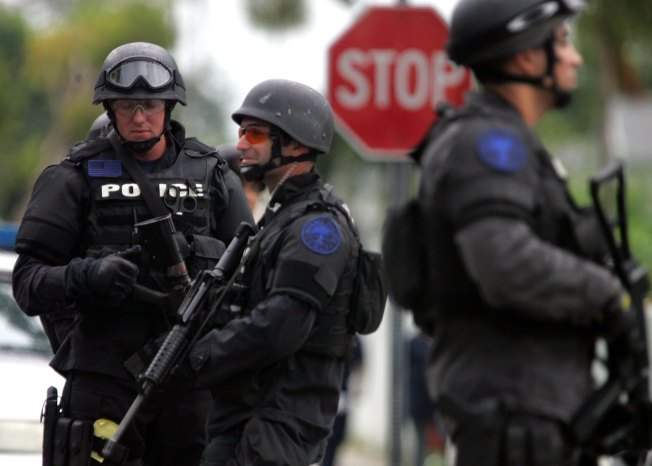 Standoff With SWAT Ends Peacefully