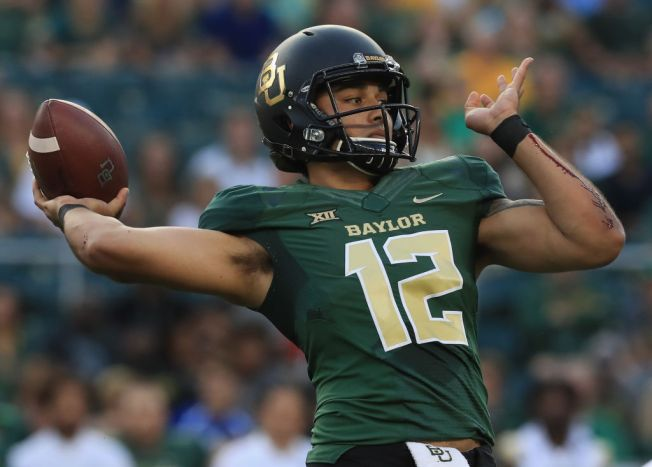 Baylor QB Solomon in Concussion Protocol; Smith, Brewer 1-2