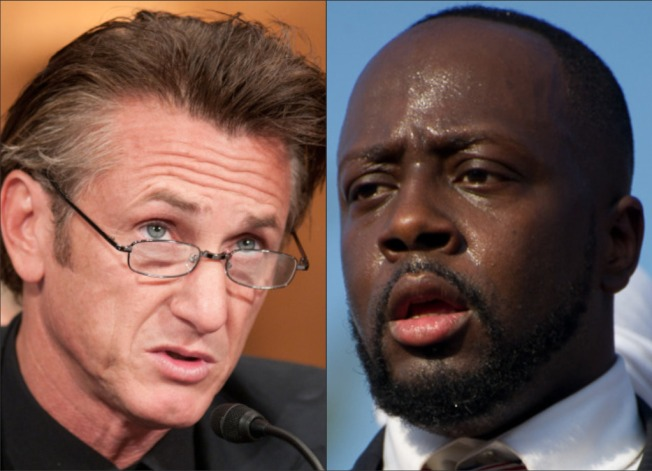Sean Penn Not Sold on President Wyclef