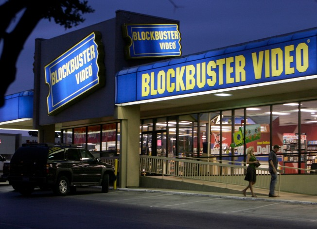 Blockbuster to Close 182 Stores