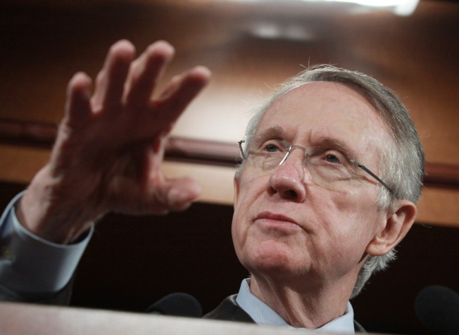 "Harry Reid: Kennedy's Death Will ""Help Us"""