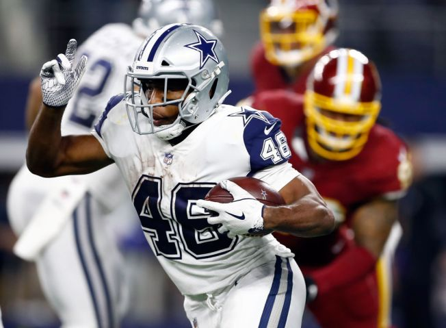Cowboys RB Alfred Morris Does Happy Dance in the Cereal Aisle