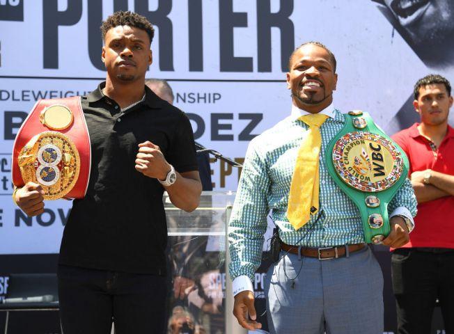 Spence Beats Porter, Gets 2 Belts in Split-Decision Thriller