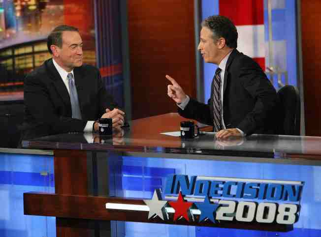 Palin Focus Overshadows a Worthy Huckabee