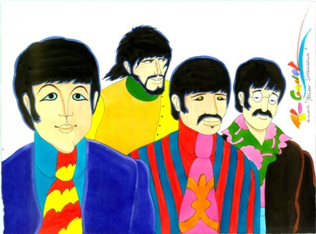 'Yellow Submarine' Resurfaces for Golden Anniversary