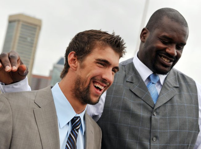 Shaq to Spar With Phelps Sunday