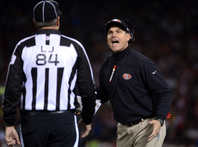 Jim Harbaugh's Meltdown Is Internet Gold