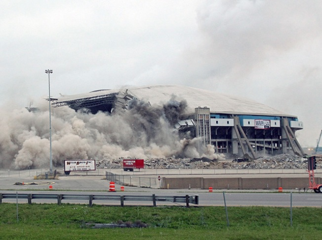 Texas Stadium Implosion Part of Seismic Study