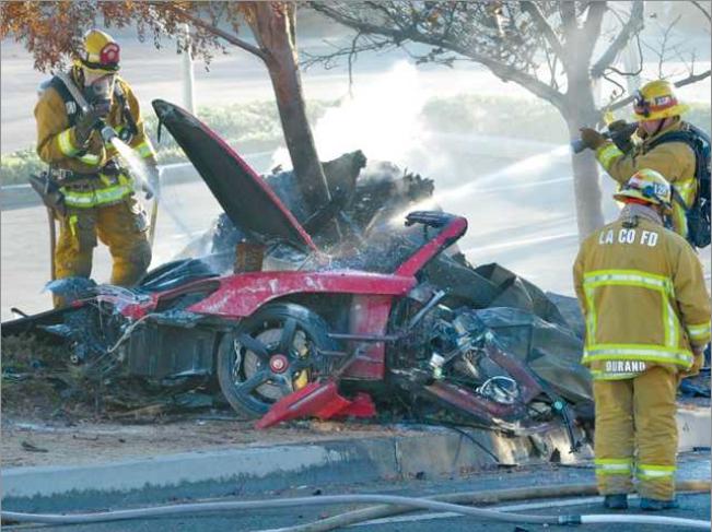 Police to Meet With Porsche Seeking Clues Into Paul Walker's Death