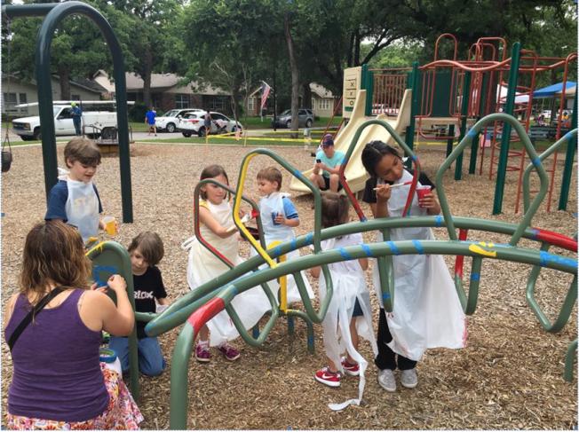 Neighborhood Fort Worth Park Gets Artsy