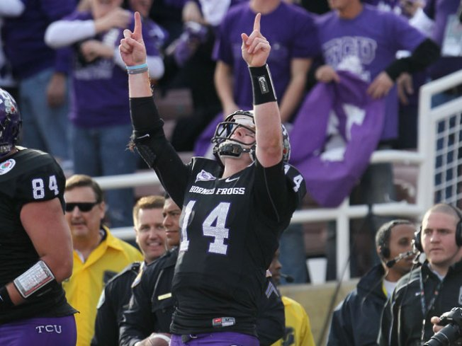 TCU is No. 2 in AP College Football Poll