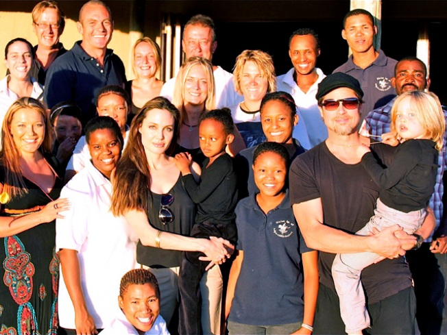 Brangelina Give $2M to African Wildlife Sanctuary