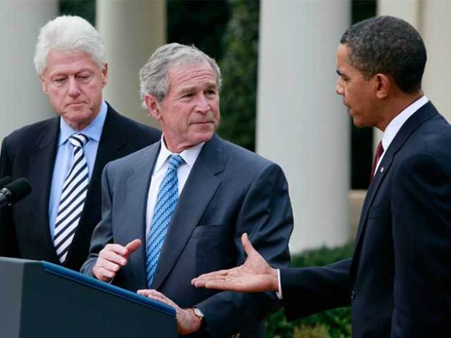 George W. Bush Says He Doesn't Miss the Spotlight