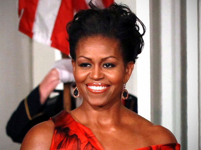 """First Lady Tapes """"Oprah"""" Friday"""