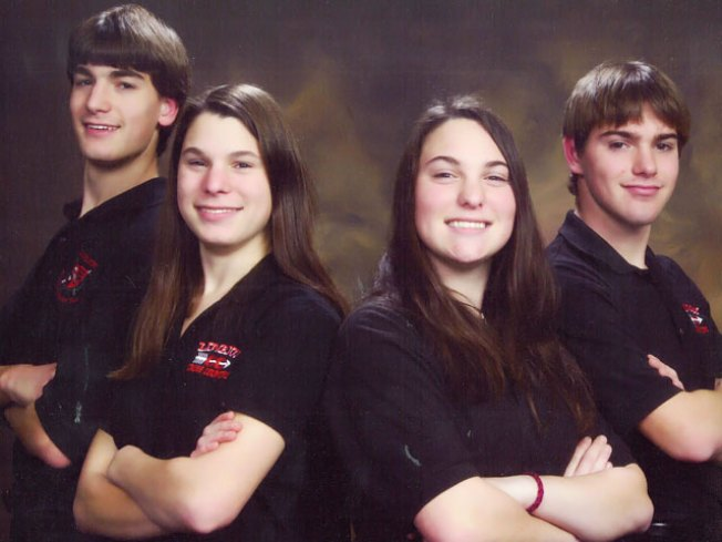 Quad Siblings Share Smarts