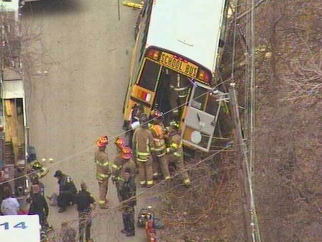 Special Needs Children Escape Injury in Bus Crash