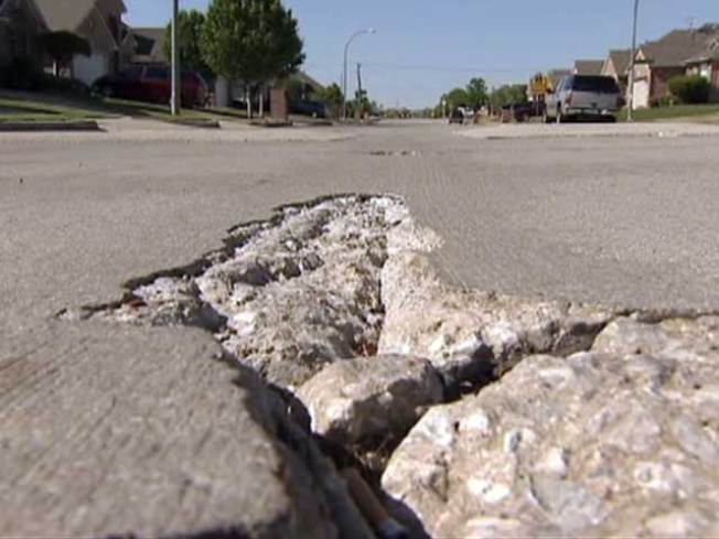 Fort Worth Blames Developers for Shoddy Streets