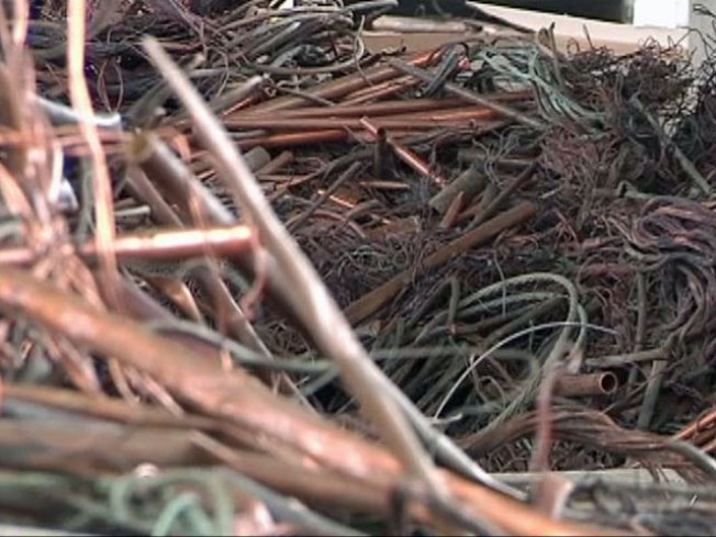Metal Recyler Says Copper Thief Caught Red-Handed