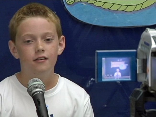 5th-Grade Journalists Create Newscast