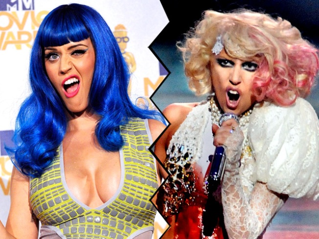 "Katy Perry Denies Gaga Feud: ""People Love Catfights"""
