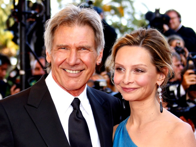 Harrison Ford & Calista Flockhart's Honeymoon: All Work