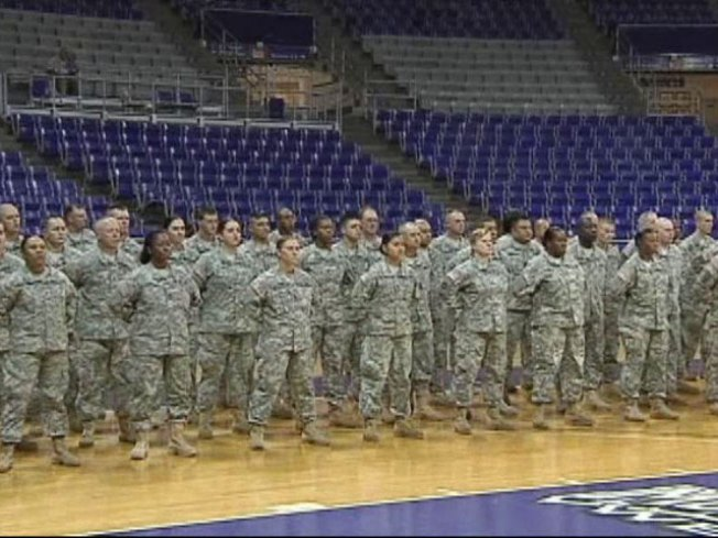 North Texas Soldiers Get Formal Send-Off